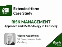 Risk management: approach and methodology in Carlsberg