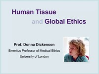 Human tissue and global ethics