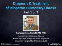 Diagnosis and treatment of idiopathic pulmonary fibrosis 1 | Video tutorial  by HSTalks