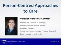 personal centred approch to care