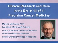 Clinical research and care in the era of 'N-of-1' precision cancer medicine