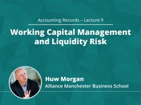 Working capital management and liquidity risk