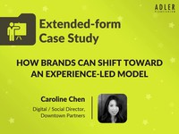 How brands can shift toward an experience-led model