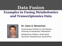 Data fusion: examples in fusing metabolomics and transcriptomics data