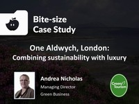 One Aldwych, London: combining sustainability with luxury