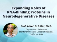 Expanding roles of RNA-binding proteins in neurodegenerative diseases