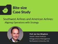 Southwest Airlines and American Airlines: aligning operations with strategy