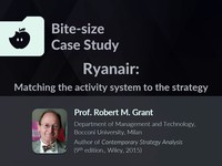 Ryanair: matching the activity system to the strategy