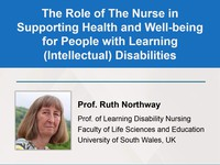 The role of the nurse in supporting health and well-being for people with learning (intellectual) disabilities