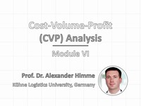 Cost-volume-profit (CVP) analysis | Video tutorial by HSTalks