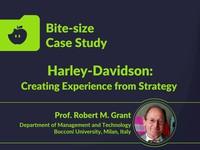 harley davidson strategy