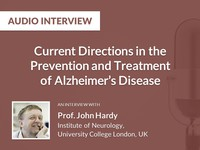 Current directions in the prevention and treatment of Alzheimer's disease