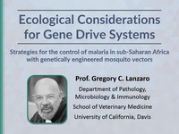 Ecological considerations for gene drive systems