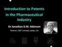 Introduction to patents in the pharmaceutical industry