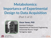 Metabolomics: importance of experimental design to data acquisition 1