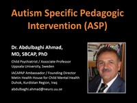 Autism specific pedagogic intervention (ASP)
