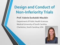 Design and conduct of non-inferiority trials