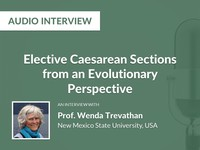 Elective caesarean sections from an evolutionary perspective