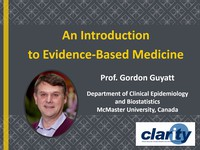 An introduction to evidence-based medicine