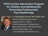 CIPCA (crisis intervention program for children and adolescents) preventing posttraumatic psychopathology
