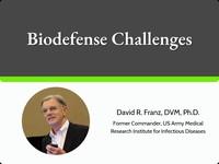 Biodefense  challenges