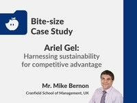 Ariel Gel: harnessing sustainability for competitive advantage