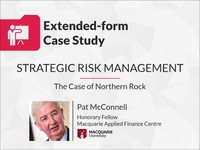 Strategic risk management: the case of Northern Rock