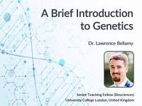 A brief introduction to genetics