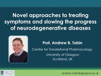 Novel approaches to treating symptoms and slowing the progress of neurodegenerative diseases