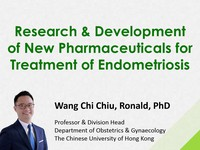 Research & development of new pharmaceuticals for treatment of endometriosis