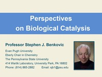 Perspectives on biological catalysis