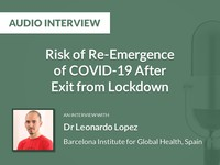 Risk of re-emergence of COVID-19 after exit from lockdown