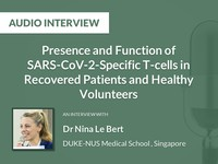 Presence and function of SARS-CoV-2-specific T-cells in recovered patients and healthy volunteers