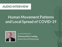 Human movement patterns and local spread of COVID-19