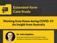 Working from home during COVID-19: an insight from Australia