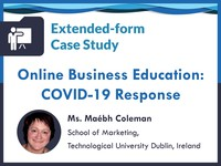 Online business education: COVID-19 response