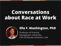 Conversations about race at work