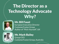 The director as a technology advocate: why?