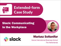 Slack: communicating in the workplace