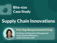 Supply chain innovations