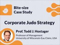 Corporate judo strategy