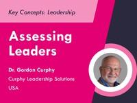 Assessing leaders
