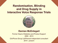 Randomization, blinding and drug supply in interactive voice response trials