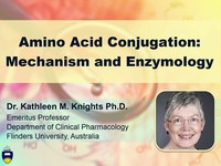 Amino acid conjugation: mechanism and enzymology